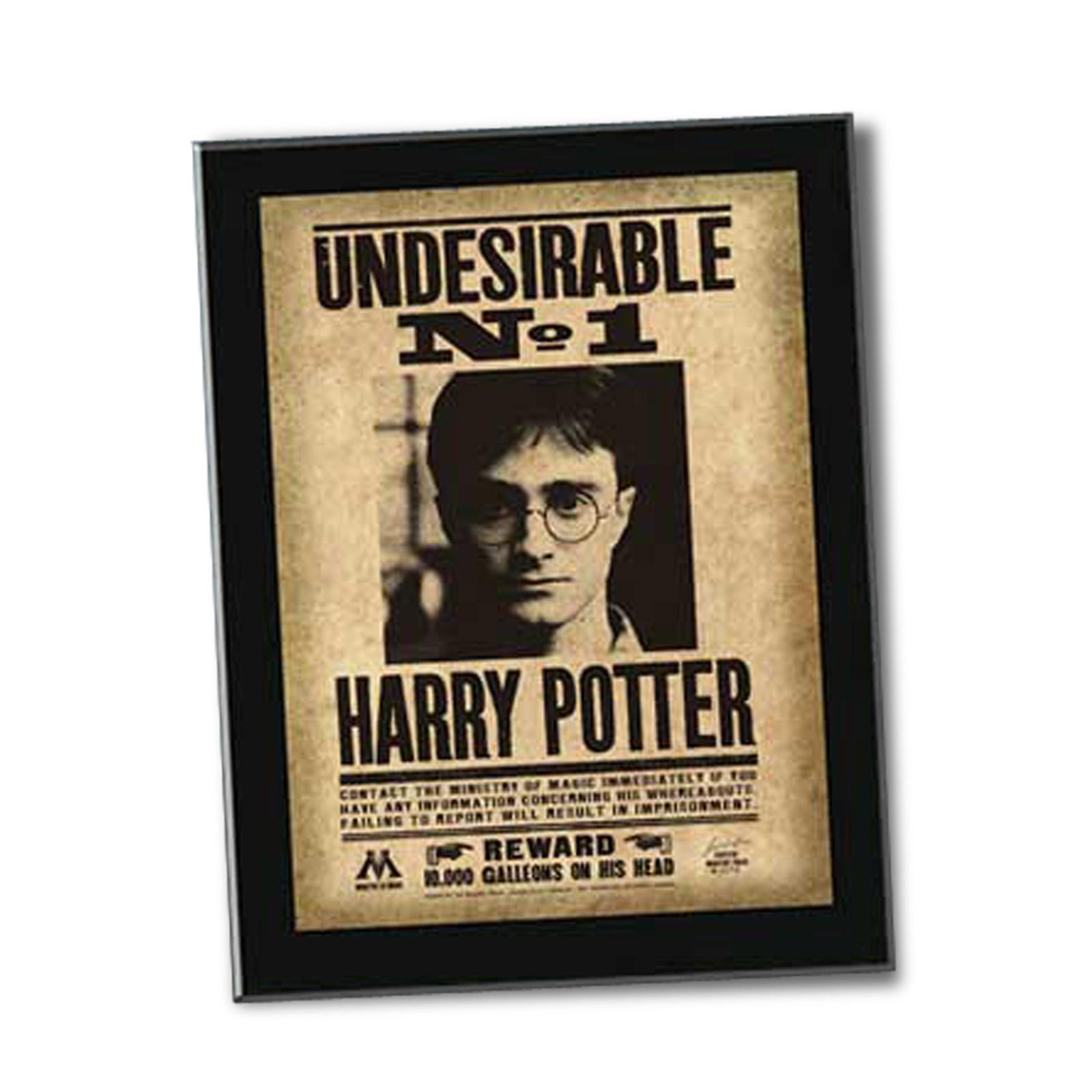 Harry Potter Steckbrief Undesirable No 1 Sign Noble Collection Exklusive Kostbarkeiten Kompromisslose Eleganz
