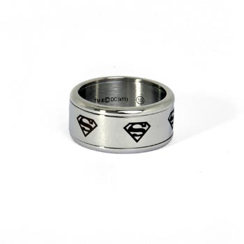 Superman Symbol Ring