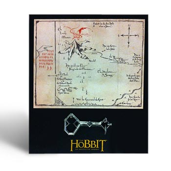 Der Hobbit - Thorins Karte mit Schlüssel - Wandbild, klein