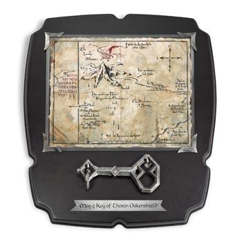 Der Hobbit - Thorins Karte mit Schlüssel - Wandbild, groß