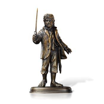 Der Hobbit - Bilbo Beutlin Bronzeskulptur