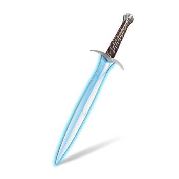 Der Hobbit - Bilbos Schwert Stich mit Leuchteffekt