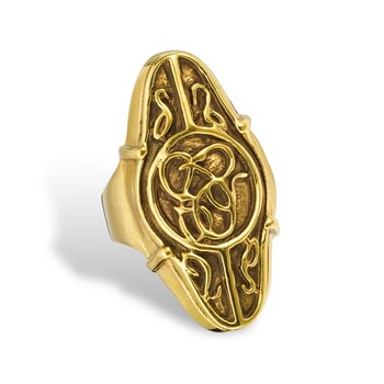 Der Hobbit - Elronds Gold-Ring