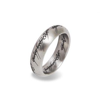 Herr der Ringe - Der Eine Ring im Schmuckdisplay, Edelstahl
