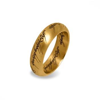 Herr der Ringe - Der Eine Ring im Schmuckdisplay, gold