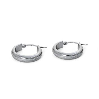 Herr der Ringe - Der Eine Ring Ohrringe, Edelstahl