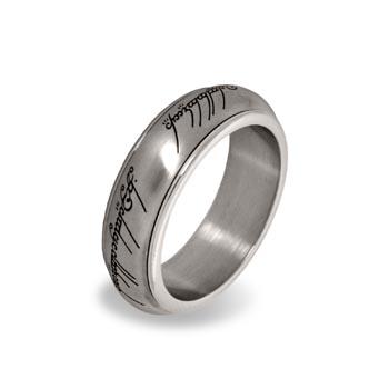 Der Eine Ring - Rotierend, im Schmuckdisplay, silber