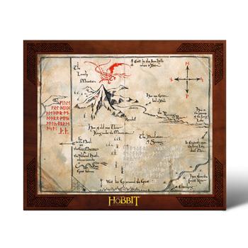 Der Hobbit - Thorins Karte