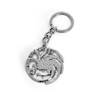 Game of Thrones - Targaryen Wappen Schlüsselanhänger