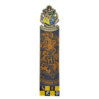 Harry Potter - Hogwarts Lesezeichen blau