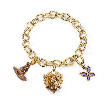 Harry Potter - Lumos Hufflepuff Charm Armband