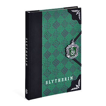 Harry Potter - Slytherin Wappen Deluxe Notizbuch