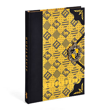 Harry Potter - Hufflepuff Wappen Deluxe Notizbuch