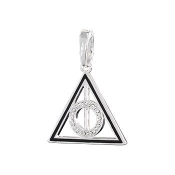 Deathly Hallows Lumos Charm Anhänger - Harry Potter