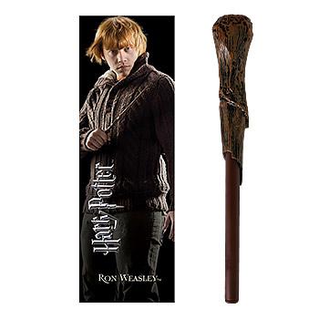 Ron Weasley Zauberstabstift & Lesezeichen - Harry Potter